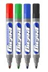 Marker suchościeralny Gigant do tablic 4 kolory